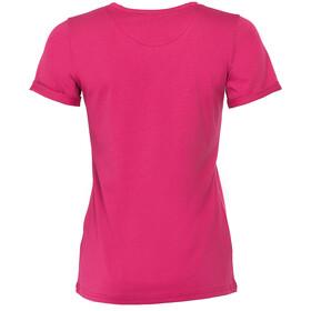Triple2 Laag Face T-Shirt Women Beet Red